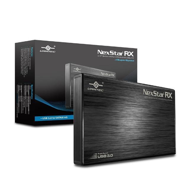 【凡達克】凡達克傳輸精靈 RX-2.5吋硬碟外接盒-USB 3.0(NST-242S3-BK)