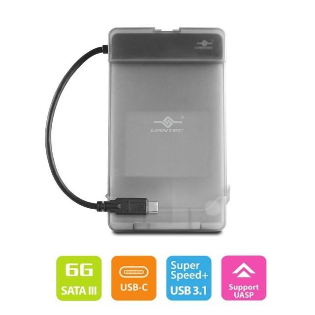 【凡達克】2.5吋硬碟轉USB3.1 Gen2 Type-C外接盒(CB-STC31-2PB)