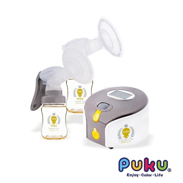 【PUKU藍色企鵝】Double Easy輕巧型電動雙邊吸乳器