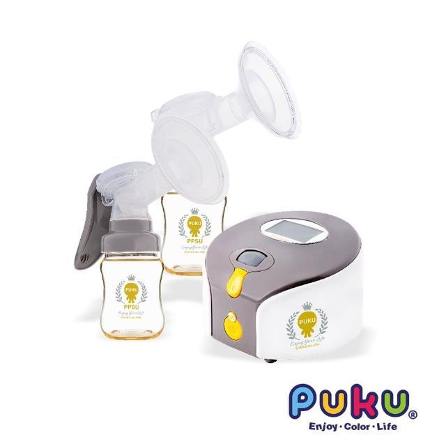 【PUKU蓝色企鹅】Double Easy轻巧型电动双边吸乳器