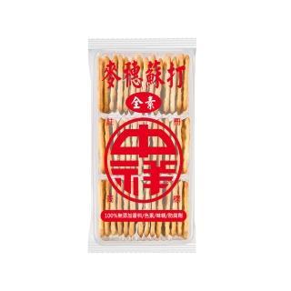 【中祥】麥穗蘇打餅乾160g/