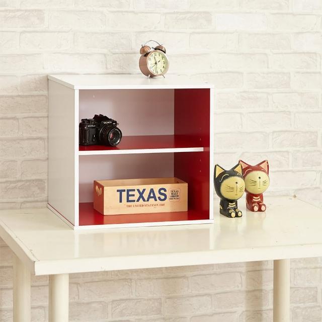 【ikloo】現代風二格收納櫃置物櫃1入