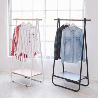 【ikloo】日系A字型掛衣架 吊衣架