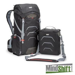 【MindShiftGear 曼德士】UltraLight運動休閒機能包25L-黑M-MS303