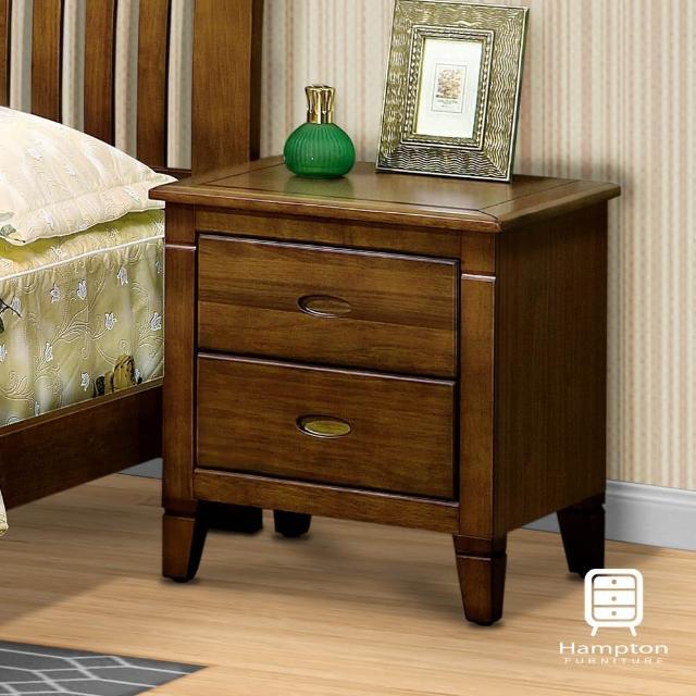 【漢妮Hampton】蘭卡系列黃檀實木床頭櫃