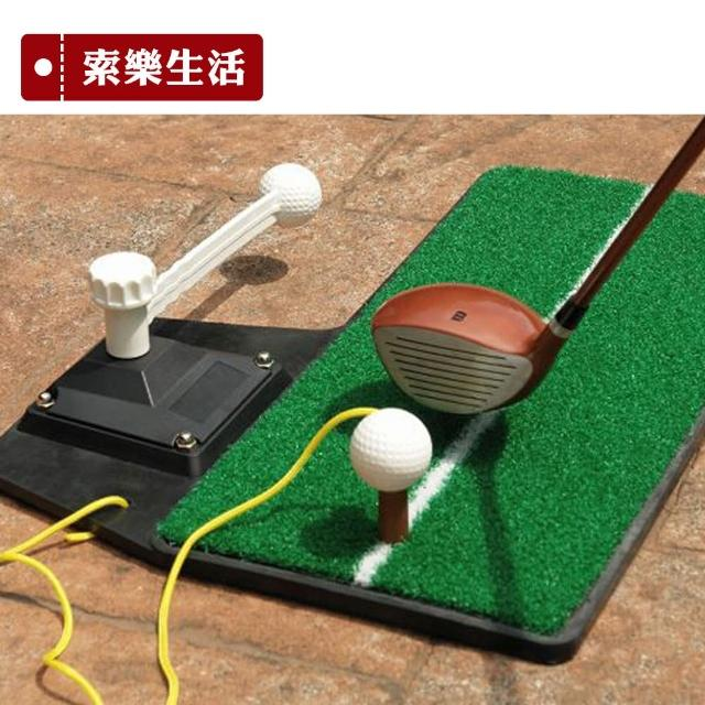 【索樂生活】GOLF高爾夫球室內揮桿打擊草皮練習器(果嶺推桿高爾夫揮桿推桿練習草皮高爾夫打擊墊)