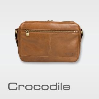~Crocodile~Crocodile Natural Collection橫式斜背包(