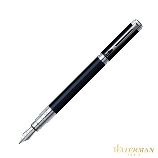 【WATERMAN】透視系列 黑桿白夾 鋼筆(優雅的建筑)