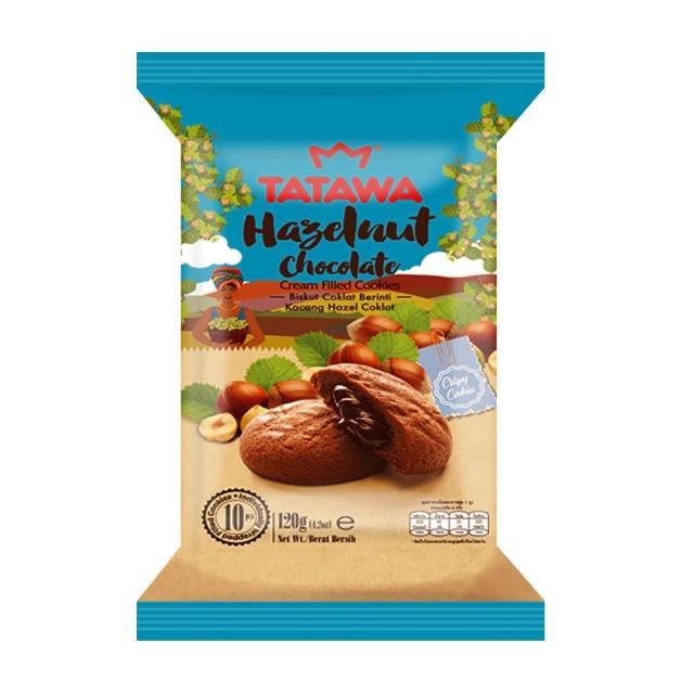 【廣吉】TATAWA 榛果巧克力熔岩餅 10入/袋(12g*10包/袋)