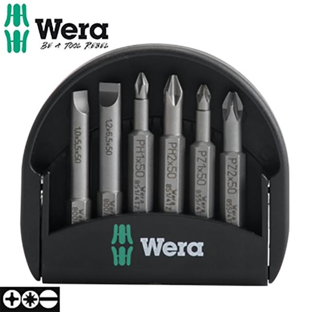 【德國 Wera】迷你起子頭-6支組附收納盒 Mini Check 50mm