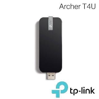 【TP-LINK】Archer T4U 高增益1300Mbps雙頻wifi網路USB無線網卡(無線網卡)