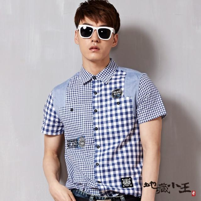 【BLUEWAY-地藏小王】地藏多元素搭配短袖襯衫
