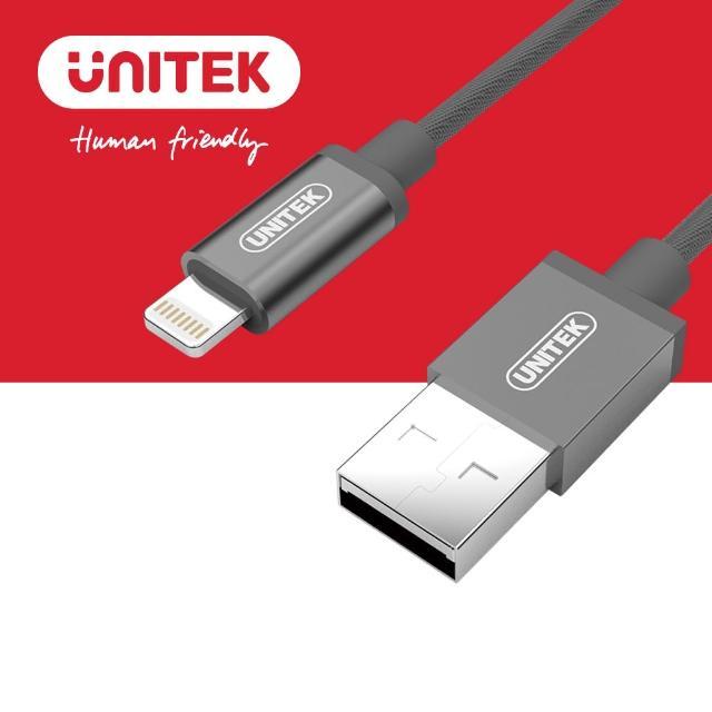 【UNITEK 优越者苹果官方授权认证充电传输线1M】Y-C499A