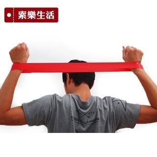 ~索樂 ~瑜珈伸展健身訓練環狀阻力帶紅色 彈力帶 健身阻力帶 乳膠彈力帶 彈力訓練帶 復健
