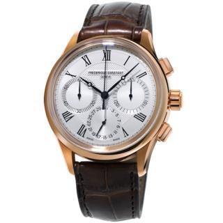 【康斯登 FREDERIQUE CONSTANT】自製機芯返馳式計時腕錶(FC-760MC4H4)