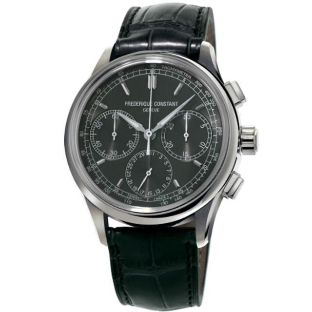 【康斯登 FREDERIQUE CONSTANT】自製機芯返馳式計時腕錶(FC-760DG4H6)