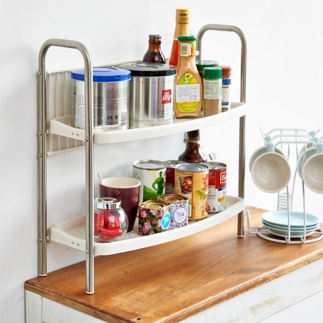 【ikloo】不鏽鋼廚房瓶罐架