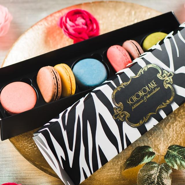 【巧克力雲莊】義式馬卡龍7入禮盒(最具女性代表的甜點)