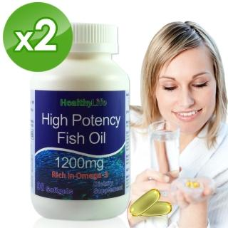 【加拿大Healthy Life】加力活歐米加600魚油膠囊(90顆*2瓶)