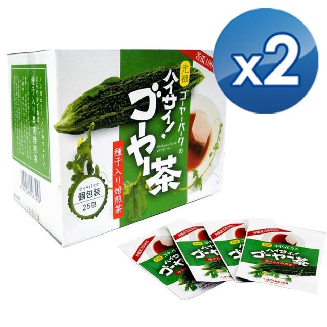 【沖繩】苦瓜焙煎茶25包(2盒組)