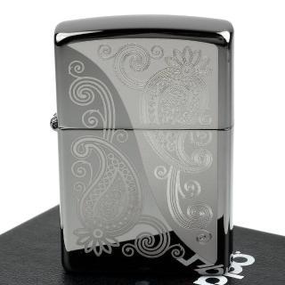 【ZIPPO】美系-Paisley Design-佩斯利花紋圖案設計打火機