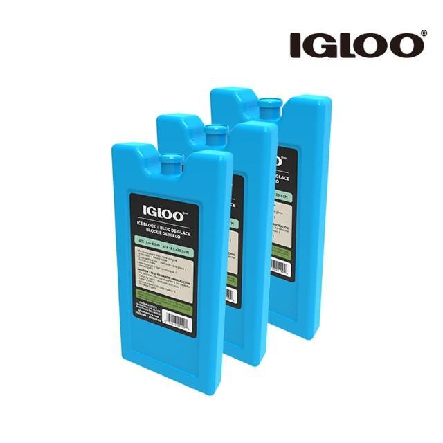 【IgLoo】IgLoo 保冷劑 MAXCOLD 25199 M號 3入一組(保鮮保冷、保冷劑、保冰劑、美國品牌)