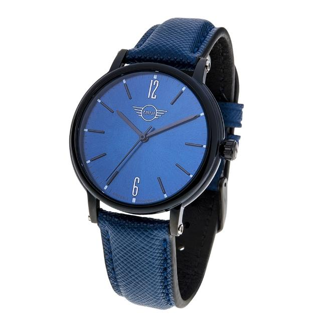 【MINI SWISS WATCHES】簡約大三針設計腕錶(37mm/MINI-160609)