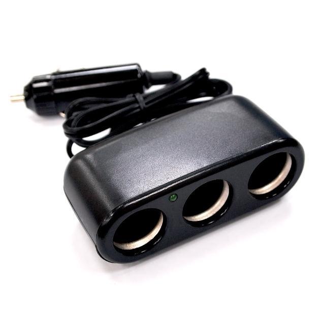 三孔點煙插座-JM527(汽車|擴充器|轉換器|座充)