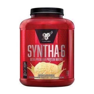【美國BSN-畢斯恩】Syntha-6 勁量低脂複合乳清蛋白(5磅-香草冰淇淋 公司貨)