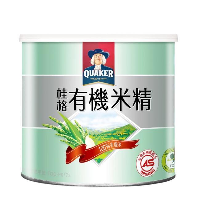 【QUAKER 桂格】敏兒HA有機米精(300g/罐)