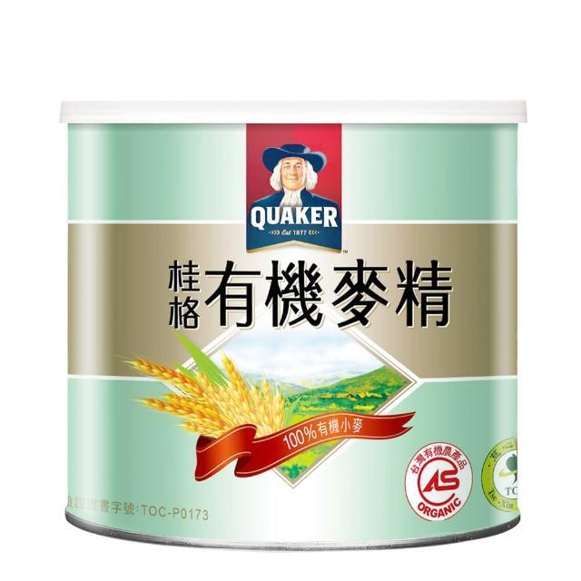 【QUAKER 桂格】敏兒HA有機麥精(300g/罐)