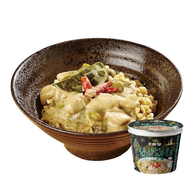 【小廚師】泰式綠咖哩雞麵 200gx6桶(2017台灣泡麵排行NO.3)