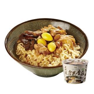 【小廚師】菩提白果香菇麵 206g*6桶/箱(珍貴白果與8種蔬食)