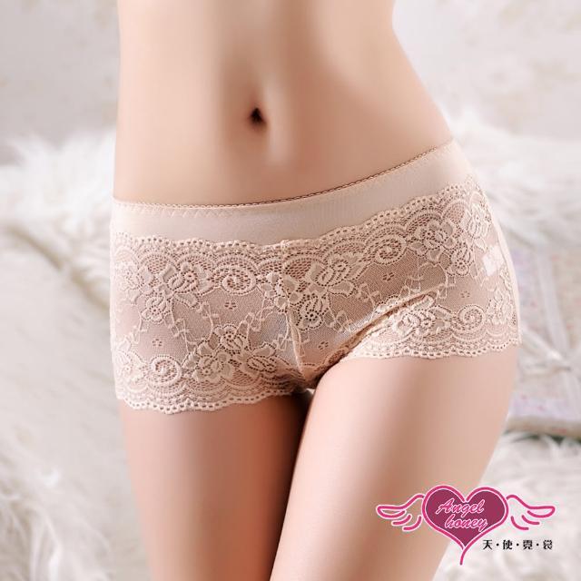【Angel 天使霓裳】內褲 古典情話 性感蕾絲美臀三角褲(膚F)