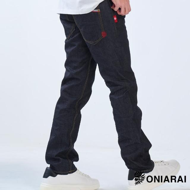 【BLUE WAY】鬼洗不落色低腰直筒褲