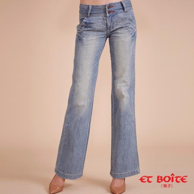 【BLUE WAY】雙釦休閒寬褲