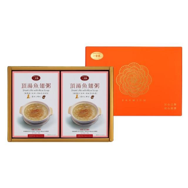 【一吉膳】魚翅粥6入禮盒-320g*6