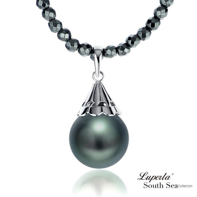 【大東山珠寶】燦麗風華 頂級南洋大溪地珍珠項鍊(大溪地黑珍珠)