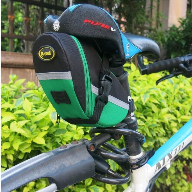 【May Shop】B-SOUL 山地自行車尾包鞍座包工具後座包坐墊包騎行裝備(特價中)