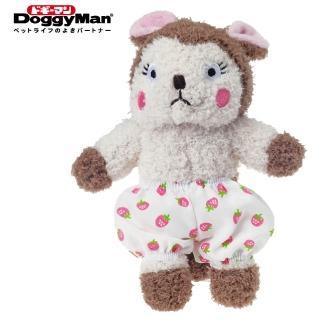 【Doggy Man】犬用友達毛絨啾啾玩具-松鼠公主(寵物用品)
