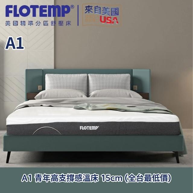 【Flotemp福樂添】雲朵系列床墊150*185*15CM-雙人5尺/