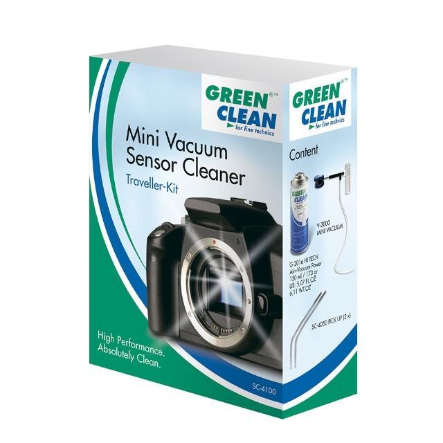 【GREEN CLEAN】MINI VACUUM SENSOR CLEANING CCD/CMOS清潔旅行組 SC-4100