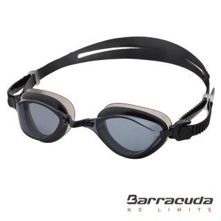 【Barracuda 巴洛酷達】成人競技抗UV防霧泳鏡-FENIX#72755(抗UV防霧廣角專利波浪舒適護墊)