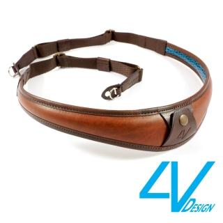 【4V Design】ALA-TOP系列相機背帶 LR-VV2324-棕/棕色(L)