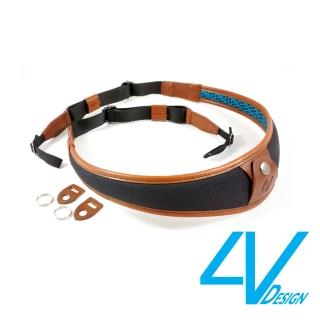 【4V Design】ALA系列相機背帶 LU-CV0923-黑/棕色(L)