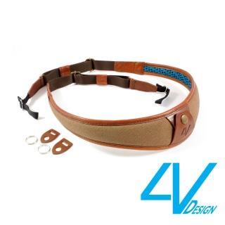 【4V Design】ALA系列相機背帶 LU-CV2223-棕/棕色(L)
