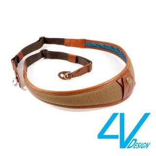 【4V Design】ALA系列相機背帶 LR-CV2223-棕/棕色/L(彩宣總代理)