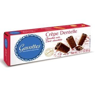 【Gavottes】歌法蒂巧克力薄餅 90g(法國傳統點心)