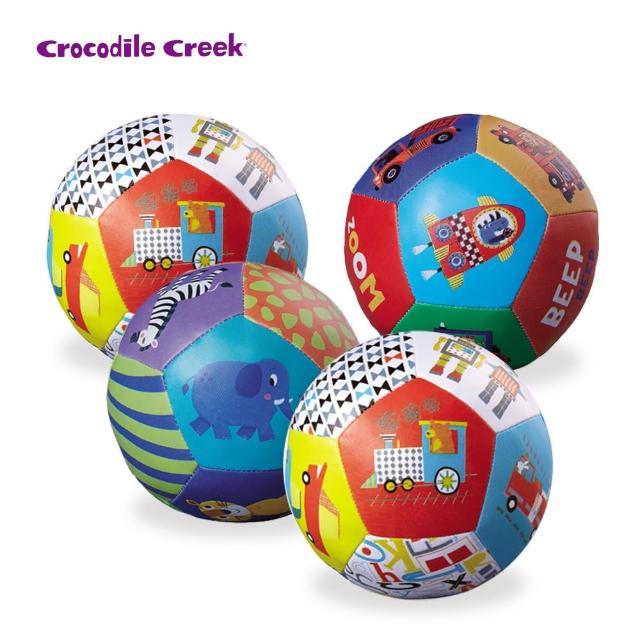 【美國Crocodile Creek】寶寶感統遊戲皮球4入組(多款任選)