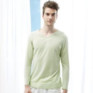 【Edenswear 伊登詩】男士seacell海藻天絲棉長袖上衣(德國進口原料從原紗到車縫台灣製造)